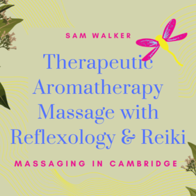 Aromatherapy Massage with Reflexology & Reiki