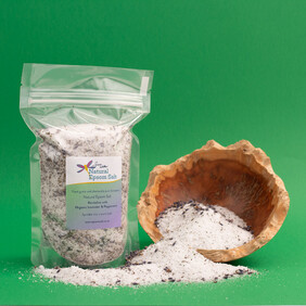 600g of Natural Epsom Salt with Organic Lavender & Peppermint